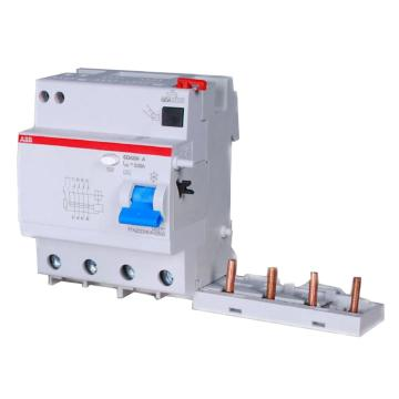 ABB 微型漏电保护附件,电磁式 A型瞬动型,DDA204 A-63/0.03