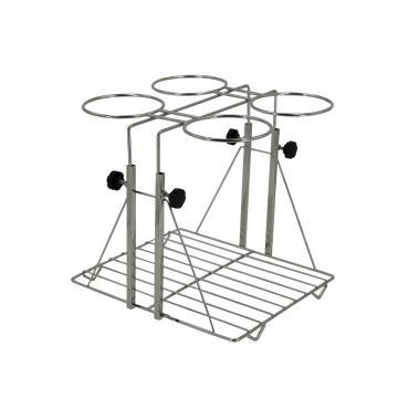 不锈钢可升降分液漏斗架,适用于1000ml的漏斗,4孔,1个