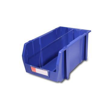 力王 组立/背挂/分隔零件盒,214*370*175mm,全新料,8个/箱,不含分隔片,PK-008-蓝色