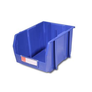 力王 组立/背挂/分隔零件盒,214*280*175mm,全新料,16个/箱,不含分隔片,PK-007-蓝色