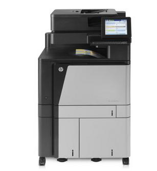 HP惠普 M880z企业级A3彩色数码功能打印一体机自动双面打印