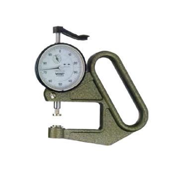 沃戈耳 VOGEL 表盘测厚规,0-10mm,24 041000