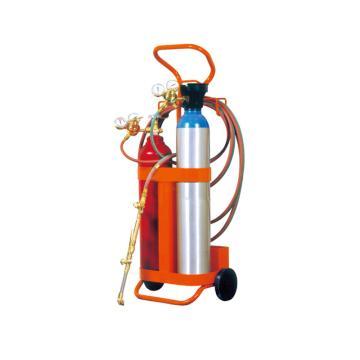 氧气丙烷轻型成套焊接设备,STC20-N,10L气瓶