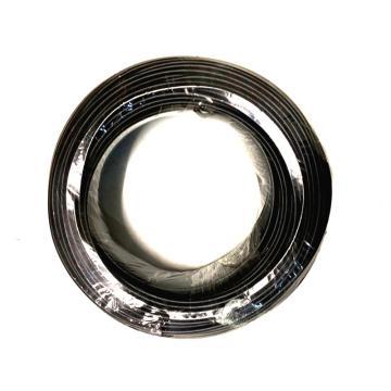 沪安 单芯硬电线,BV-1mm² 黑 95m/卷