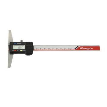 广陆 数显深度尺,0-150mm,121-101