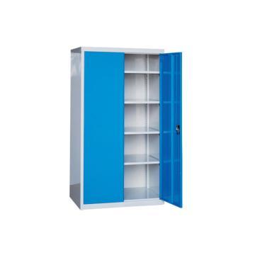 4层层板铁门型置物柜, 1000W*600D*1800H
