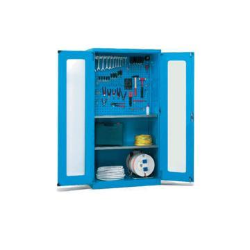 锐德 玻璃门型置物柜,外形尺寸(mm):1000W*600D*1800H,CG106018-3