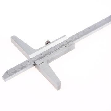 哈量 深度游标卡尺,0-200mm(分度值0.02mm)