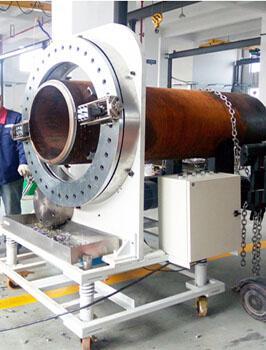 博合雅 固定式切割坡口机FFM608,270-570mm,≤80,电动
