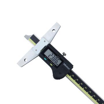 三丰 mitutoyo 数显深度卡尺,0-200*0.01mm,571-202-30