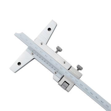 三丰 深度游标卡尺,(微调)0-150*0.02mm,527-101
