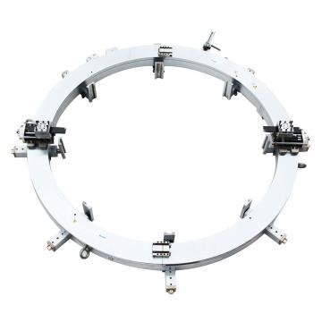 """博合雅 外钳式切割坡口机SFM2430,液压跟踪刀架,管径24""""-30"""",≤80"""