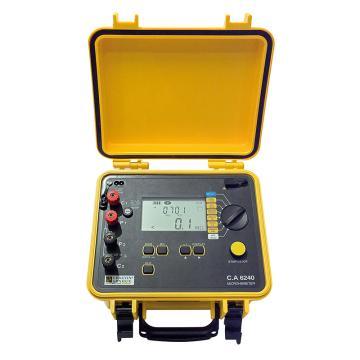 CHAUVIN ARNOUX/CA C.A 6240低阻测试仪,最大测试电流10A,最高分辨率1μΩ