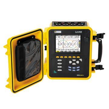 CHAUVIN ARNOUX/CA C.A 8435电能质量分析仪,IP67,含4个A196-450电流钳,5个电压测试线