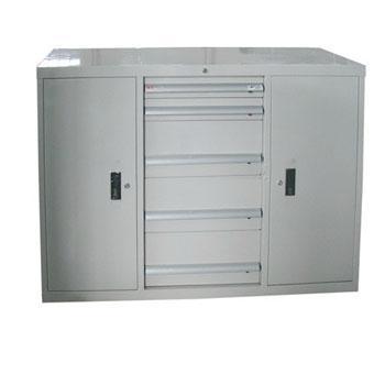 工具柜, 1130W*572D*1000H 5个抽屉 4层层板