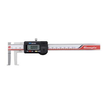 广陆 内沟槽数显卡尺,14-150mm(刀头)