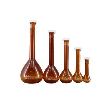 棕色容量瓶,聚乙烯瓶塞,50ml,2个/盒