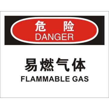 安赛瑞 OSHA危险标识-易燃气体,ABS板,250×315mm,31716