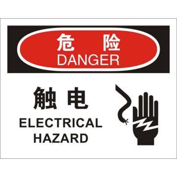 安赛瑞 OSHA危险标识-触电,ABS板,250×315mm,31650