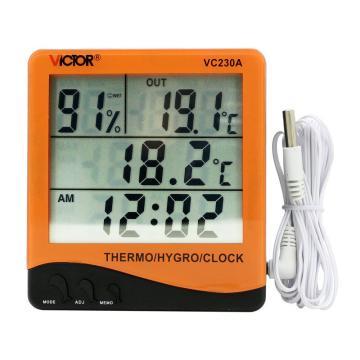 勝利/VICTOR 家用溫濕度計,VC230A