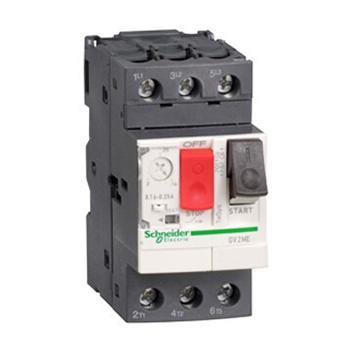 施耐德Schneider 電機保護斷路器,GV2ME02C,熱磁型