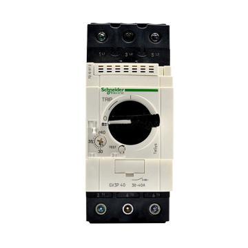 施耐德 电机保护断路器,GV3P40,热磁型