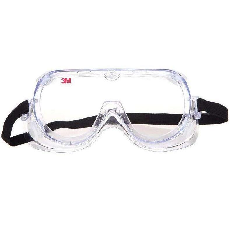 3M 1621AF防雾护目镜,防化学物飞溅,防雾