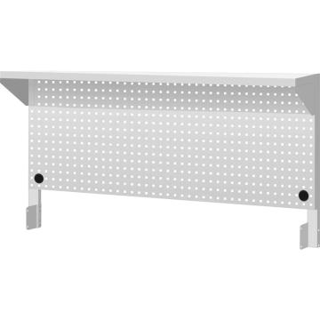 天钢 工作桌配件之上架组,H607ⅹW1500ⅹD348 挂板组 棚板组,WQ-153