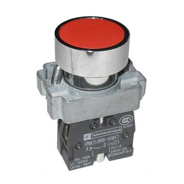 施耐德Schneider XB2 平头按钮(ZB2BZ102C+ZB2BA4C),XB2BA42C