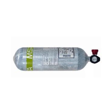 梅思安MSA 气瓶,3579164,6.8L带表碳纤气瓶