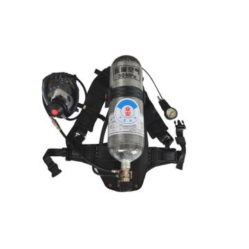业安 空气呼吸器,RHZK-6.8/30,复合瓶空气呼吸器配套面罩
