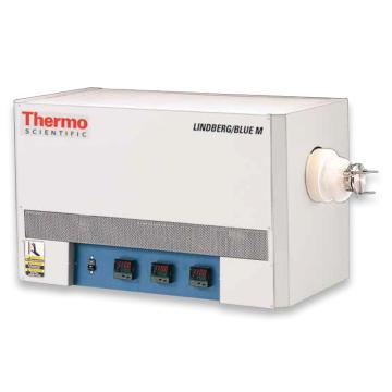 管式炉,热电,三区控温,STF55346C-1,控温范围:100~1100℃,外部尺寸:533.4x431.8x889mm