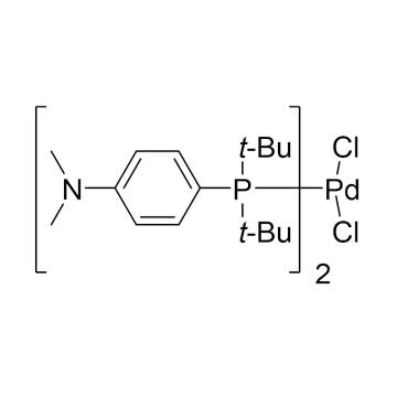 CAS:887919-35-9|二氯二叔丁基-(4-二甲基氨基苯基)磷钯(II)|98%|600130-1g