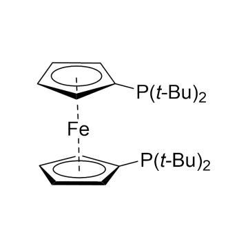 CAS:84680-95-5|1,1'-双(二叔丁基膦)二茂铁|98%|600382-250mg