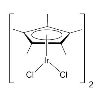 CAS:12354-84-6|二氯(五甲基环戊二烯基)合铱(III)二聚体|98%|600038-500mg