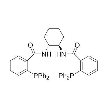 CAS:138517-61-0|(1R,2R)-(+)-1,2-二胺基环己基-N,N'-双(2'-二苯基磷基苯甲酰)|98%|600378-100mg