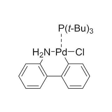 CAS:1375325-71-5|氯[(三-tert-三丁基膦)-2-(2-氨基联苯)]钯(II)|97%|600782-250mg