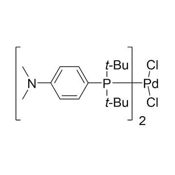 CAS:887919-35-9|二氯二叔丁基-(4-二甲基氨基苯基)磷钯(II)|98%|600130-5g