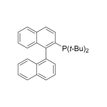 CAS:255836-67-0|2-(二叔丁基磷)-1,1'-联萘|98%|600358-5g