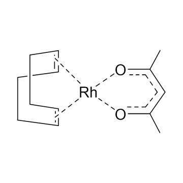 CAS:12245-39-5|乙酰丙酮(1,5-环辛二烯)铑|98%|600194-100mg|0-4°C