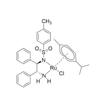 CAS:192139-92-7|氯{[(1R,2R)-(-)-2-氨-1,2-二苯乙基](4-甲苯磺酰)氨}(P-异丙基甲苯)钌(II)|98%|600225-500mg