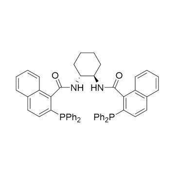CAS:174810-09-4|(1R,2R)-(+)-1,2-二氨基环己烷-N,N'-双(2-苯基膦-1-萘酰基)|94%|600381-100mg