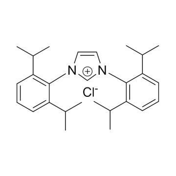 CAS:250285-32-6|1,3-双(2,6-二异丙基苯基)氯化咪唑翁|97%|600553-1g