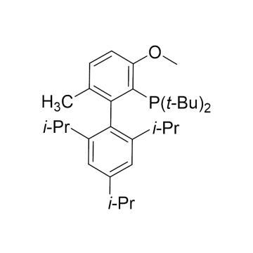 CAS:1262046-34-3|2-(二-叔丁基磷)-3-甲氧基-6-甲基-2'4'6'-三异丙基-联苯|98%|600738-500mg
