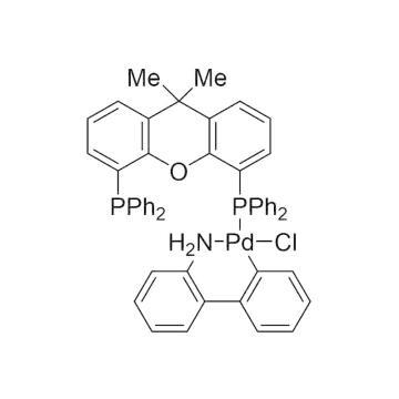 CAS:1375325-77-1|氯[(4,5-双(二苯基膦)-9,9-二甲基氧杂蒽)-2-(2-氨基联苯)]钯(II)|98%|600812-500mg