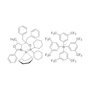 CAS:880262-14-6|1,5-环辛二烯{[二苄基((4R,5R)-5-甲基-2-苯基-4,5-二氢-4-噁唑基)甲基]二苯基膦氧基ΚN:ΚP}铱(Ⅰ)四(3,5-二-三氟甲基苯基)硼酸盐|97%|600834-1g
