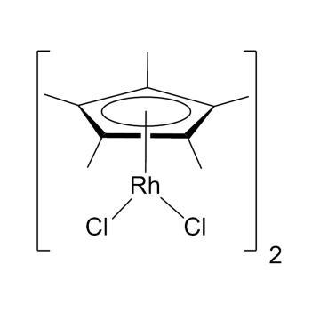 CAS:12354-85-7|二氯(五甲基环戊二烯基)合铑(III)二聚体|98%|600208-1g