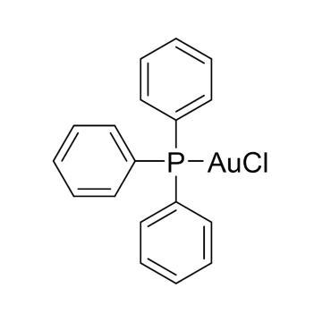 CAS:14243-64-2|氯化三苯基磷金(I)|98%|600017-1g