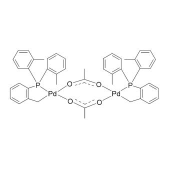 CAS:172418-32-5|反式二-(m)-双[2-(二邻甲苯基膦)苄基]乙酸二钯(II)|97%|600090-1g