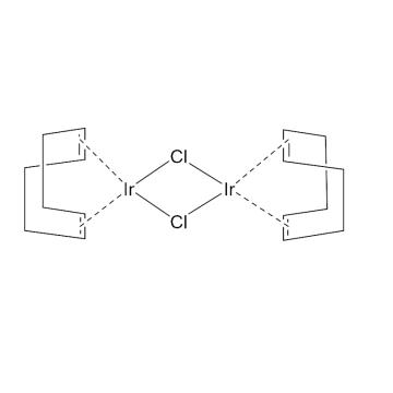 CAS:12112-67-3|双(1,5-环辛二烯)氯化铱(I)二聚体|98%|600036-250mg